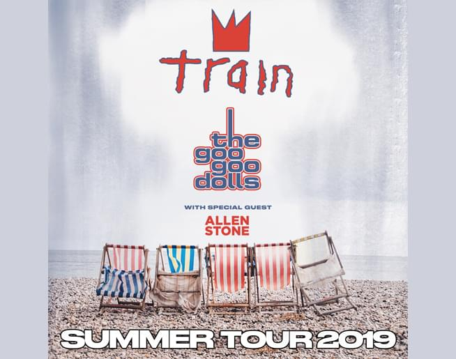Train + Goo Goo Dolls at Starlight Theatre – June 21st
