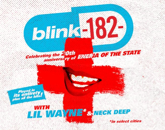 Blink-182 + Lil Wayne at Providence Amphitheater on Sept. 8