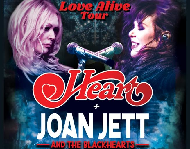 Heart LIVE at Starlight Theatre on October 8