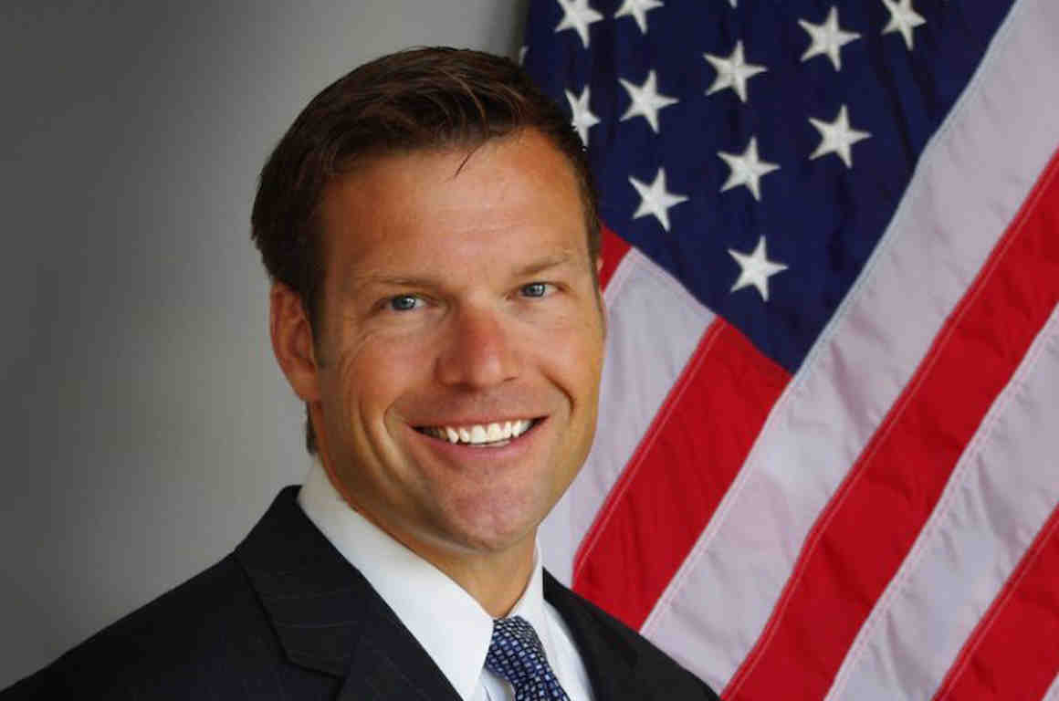 Kris Kobach Discussing Recusing Himself from Kansas Vote Count