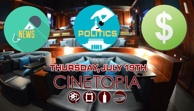 RSVP for News, Politics, and Money July 19th