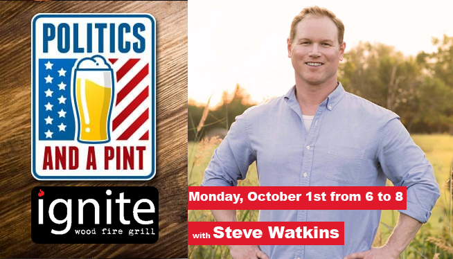 Politics and a Pint – Monday Oct 1st