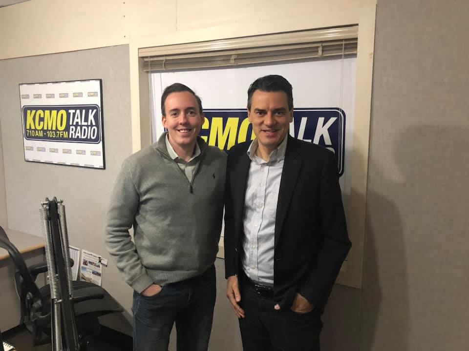 Kevin Yoder Discusses His Post-Politics Future on KCMO