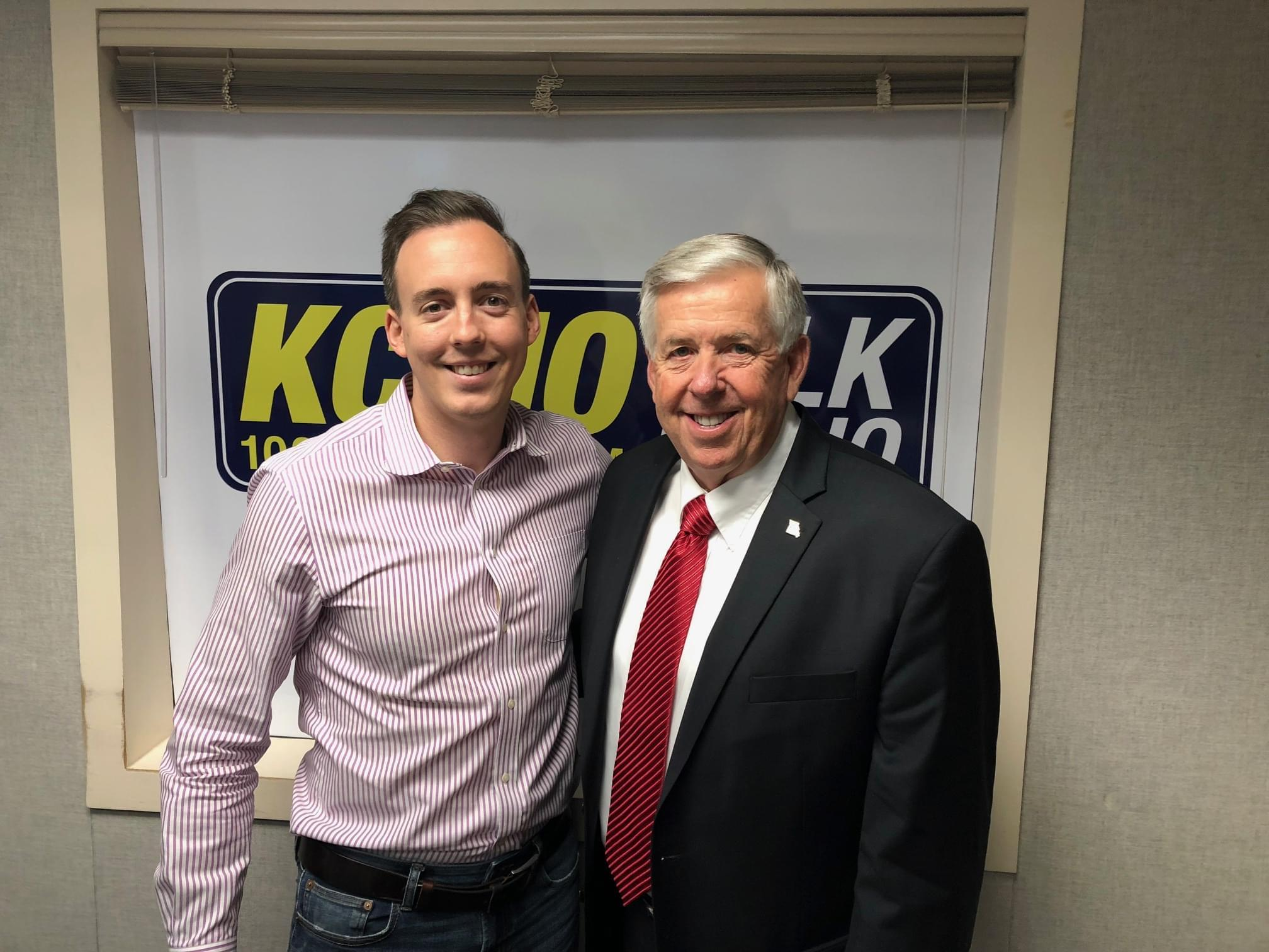 Governor Mike Parson Joins Pete Mundo After His State of the State Address