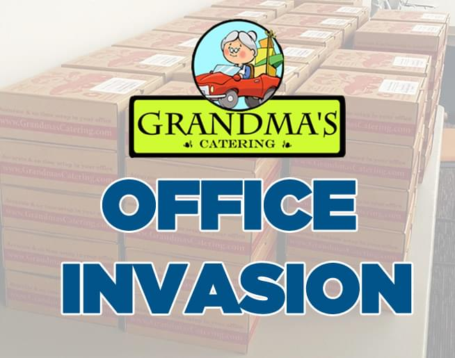 Grandma's Office Invasion – Enter to WIN lunch for 20!