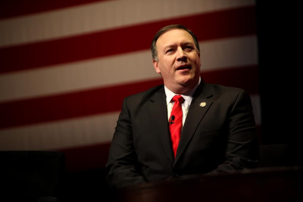 Secretary of State Mike Pompeo Joins Pete Mundo During His Trip To Overland Park