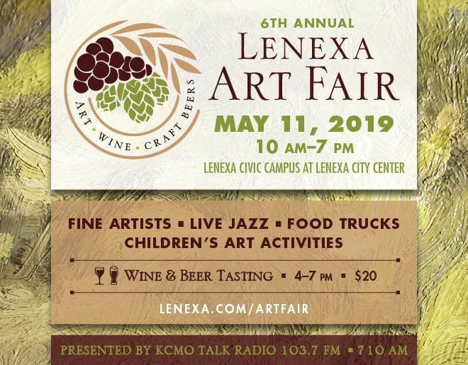 Lenexa Art Fair on Saturday, May 11