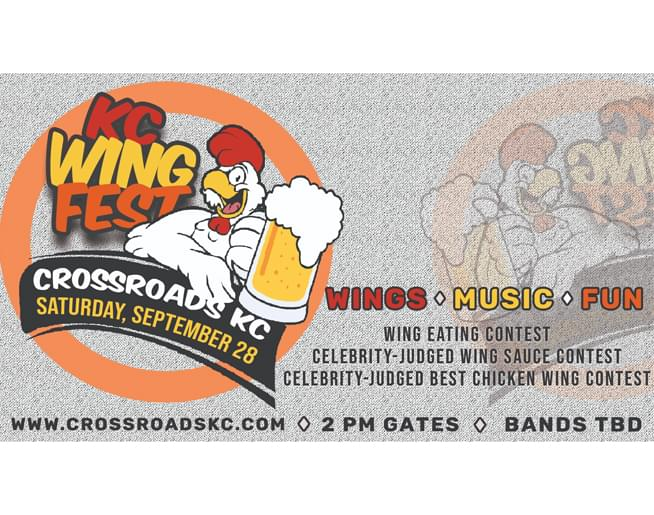 KC Wing Fest at CrossroadsKC on Sept. 28