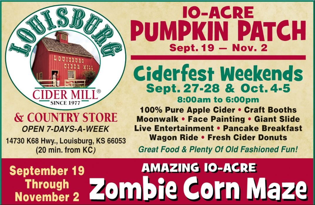 Listen to WIN tickets to the Louisburg Cider Mill