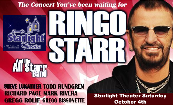 Ringo Starr and His All Starr Band – Starlight Theatre Oct 4th