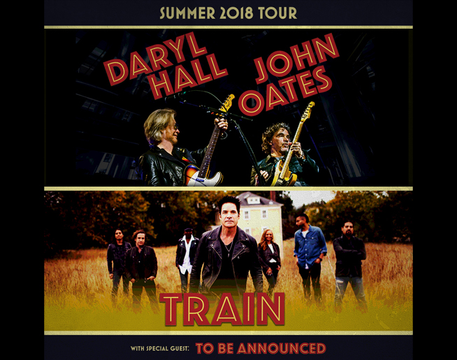 Hall & Oates + Train LIVE at Sprint Center
