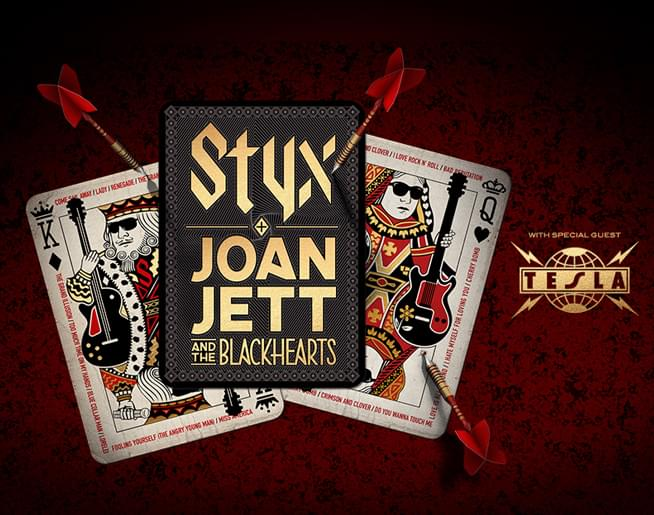 Styx & Joan Jett and the Blackhearts with special guest Tesla
