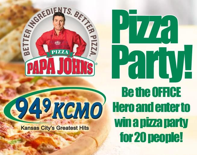Papa John's Pizza Party
