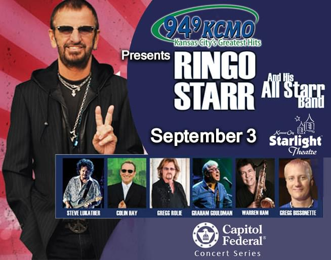 Ringo Starr & his All Starr Band – LABOR DAY – SEPTEMBER 3
