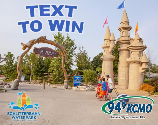 Text to win a Private Cabana Rental at Schlitterbahn KC!