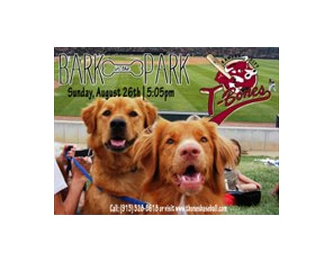 Bark in the Park with the T-Bones – August 26th