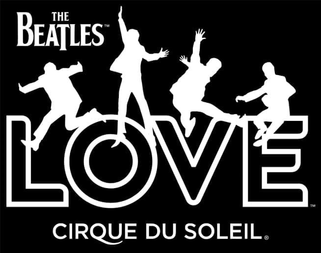 The Beatles LOVE by Cirque du Soleil in Las Vegas!