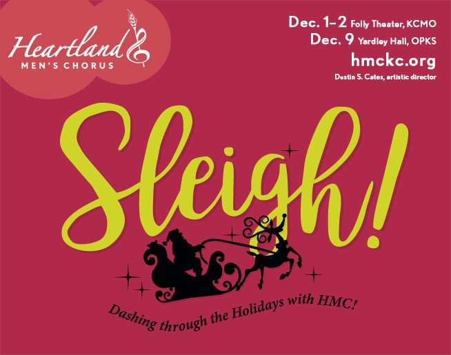 Heartland Men's Chorus – Sleigh!