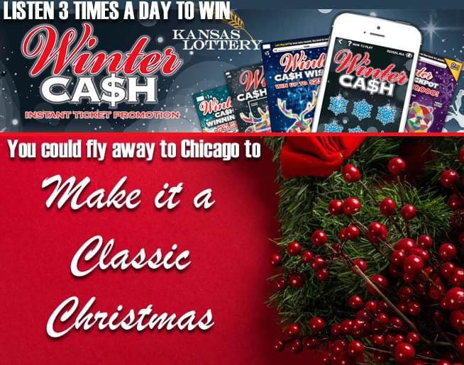 Holiday in the City with Kansas Lottery Winter Cash