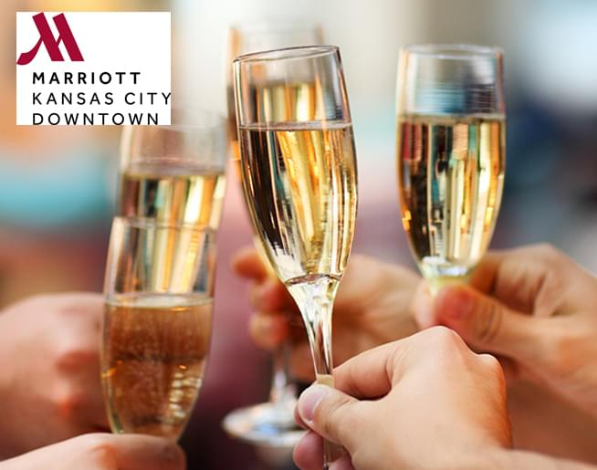 Win a NYE Gold Package from The KC Marriott Downtown!