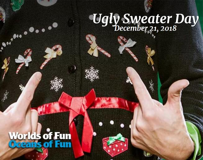Ugly Sweater Day at Worlds of Fun!
