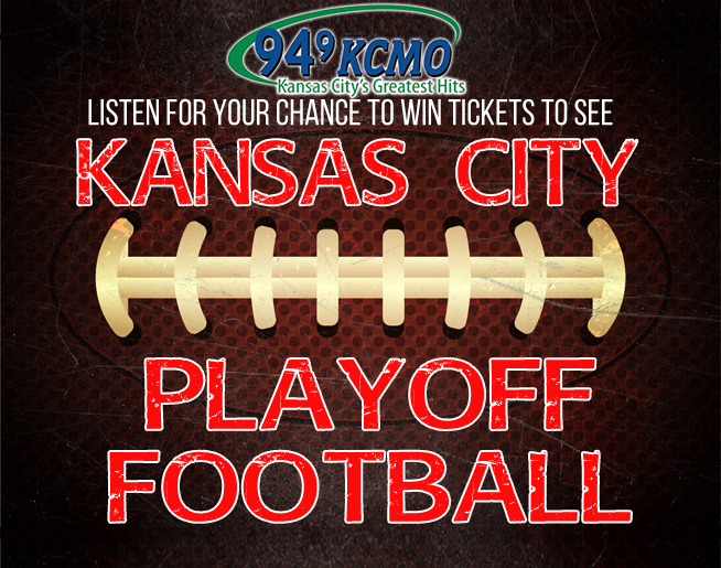 Listen to win tickets to see Kansas City Playoff Football!