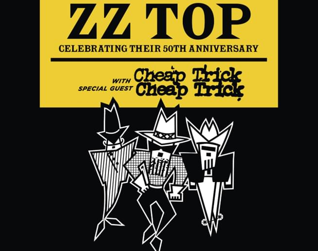 ZZ Top at Starlight Theater September 1st