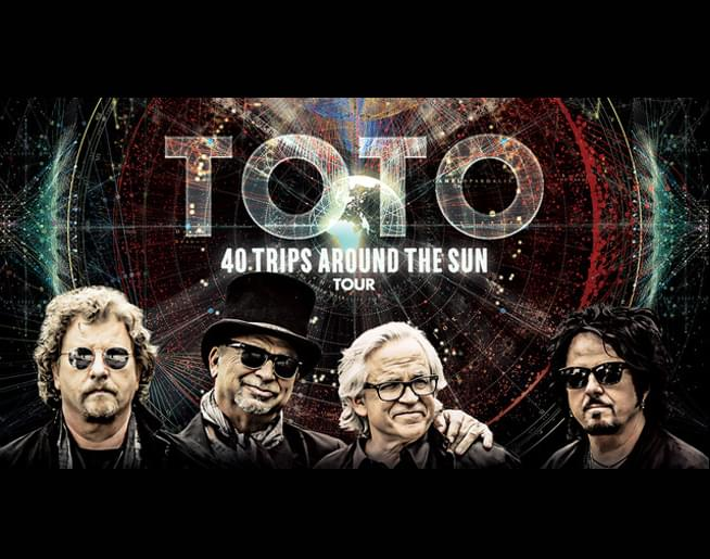 TOTO at Uptown Theater on September 27th