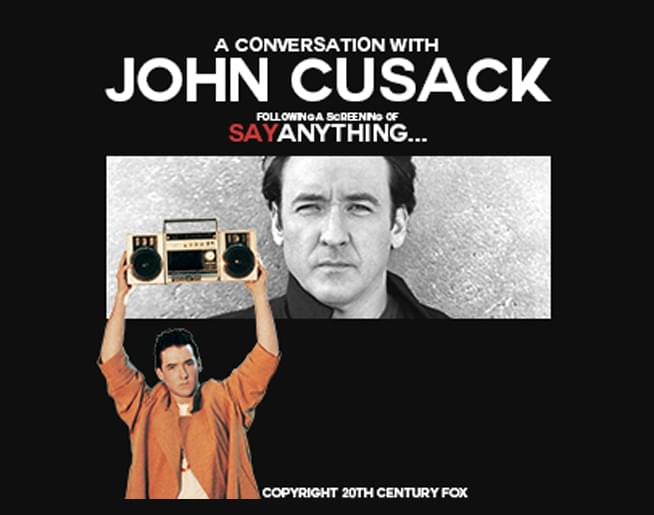 John Cusack at The Midland on August 3rd