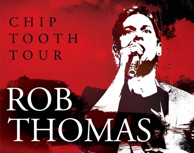 Rob Thomas at The Uptown – Aug. 31st