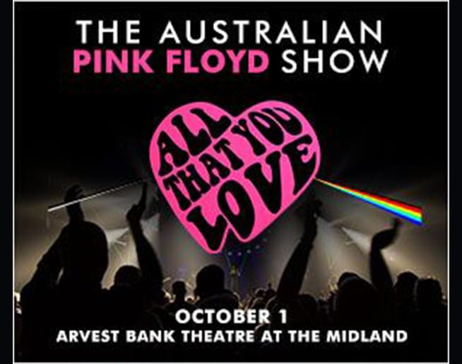 94.9 KCMO Welcomes Australian Pink Floyd at The Midland Oct. 1st