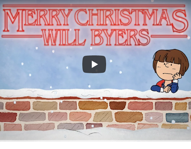 A Stranger Things Christmas.Video Watch A Stranger Things Christmas Merry Christmas