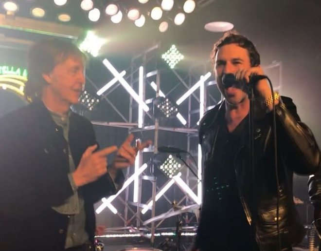 "VIDEO: Paul McCartney Joins Muse Members Onstage For ""Helter Skelter"""