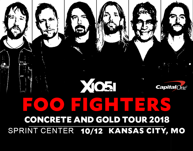 X1051 Welcomes // Foo Fighters @ Sprint Center