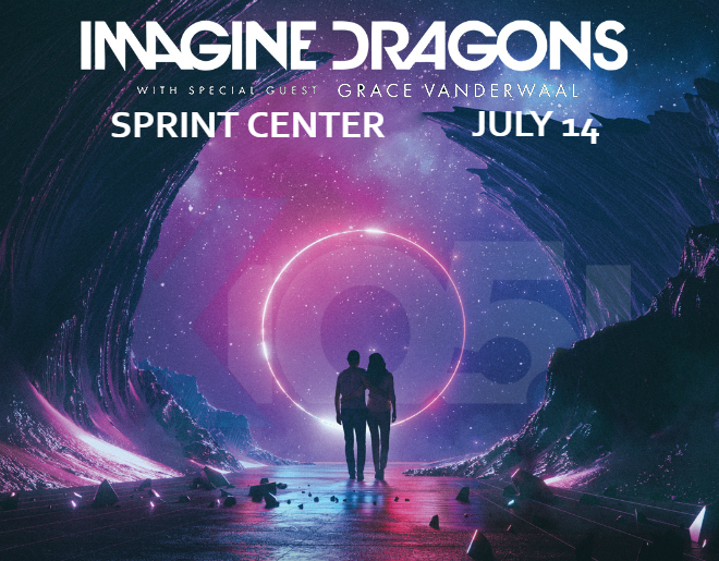 X1051 Welcomes // Imagine Dragons @ Sprint Center