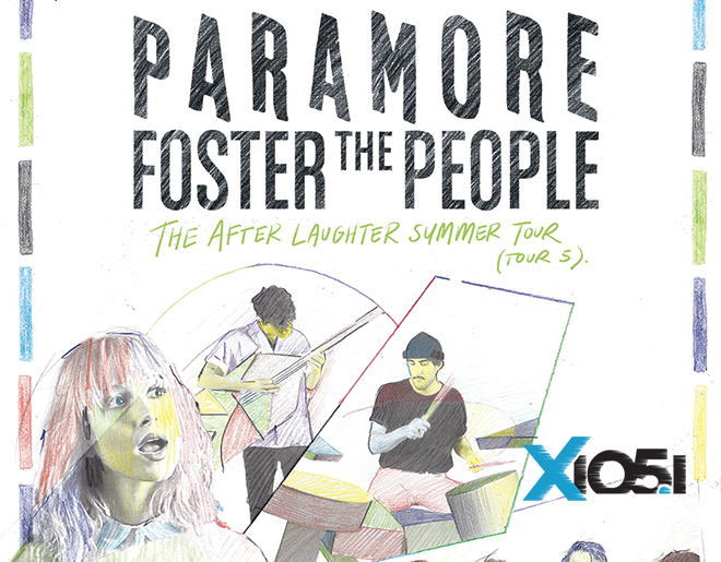 X1051 Welcomes // Paramore + Foster The People