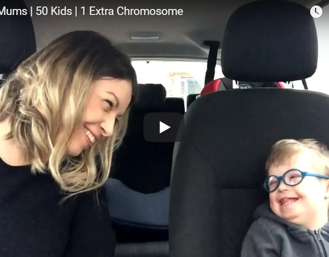 VIDEO: 50 Moms & Kids Share Their Version Of Carpool Karaoke For World Down's Syndrome Day