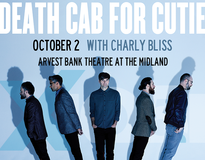 X1051 Welcomes // Death Cab For Cutie @ The Midland