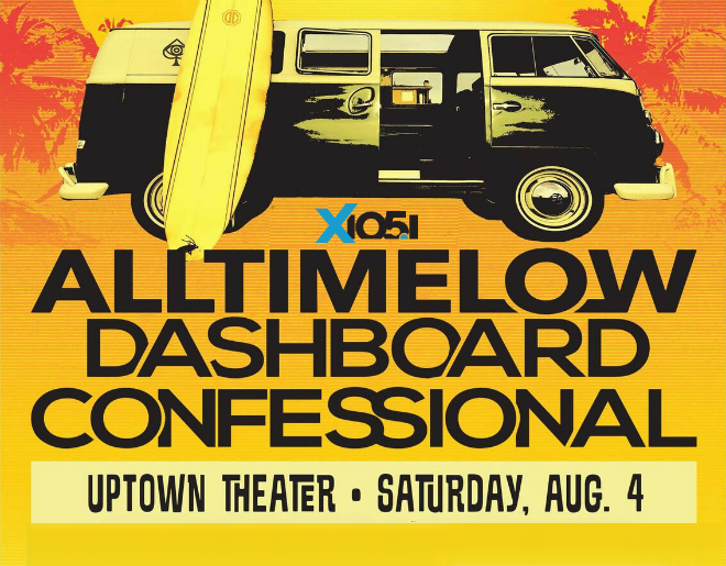 X1051 Welcomes // All Time Low & Dashboard Confessional