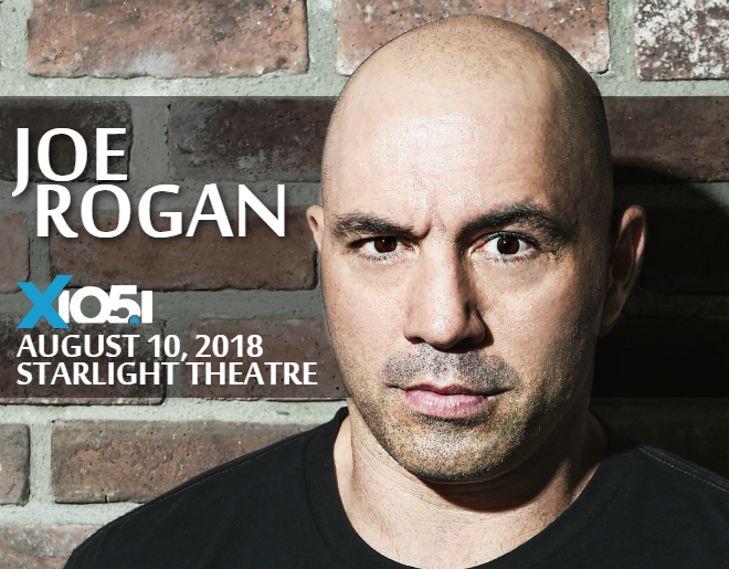 X1051 Welcomes // Joe Rogan @ Starlight