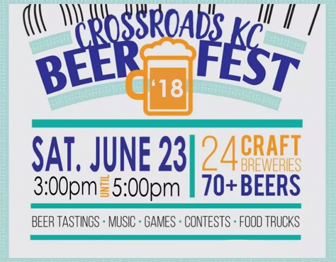 Crossroads KC Beer Fest – June 23