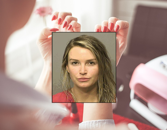 Woman Unhappy With Manicure Drags Employee Across Parking Lot With BMW