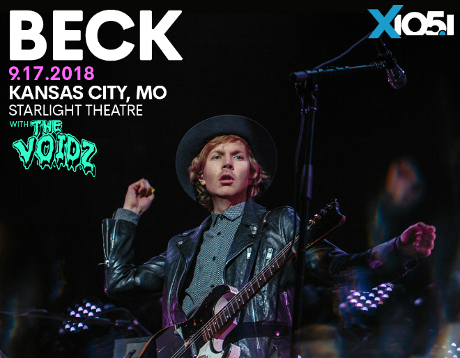 X1051 Welcomes // Beck @ Starlight Theatre