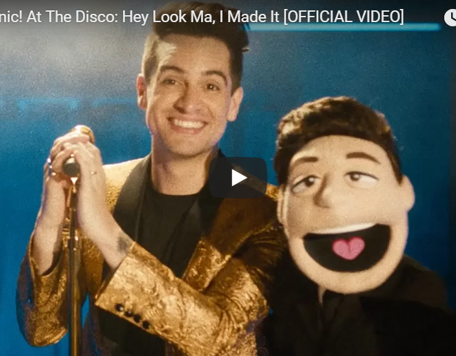 "VIDEO: Check Out The New Video From Panic! At The Disco ""Hey Look Ma, I Made It"""
