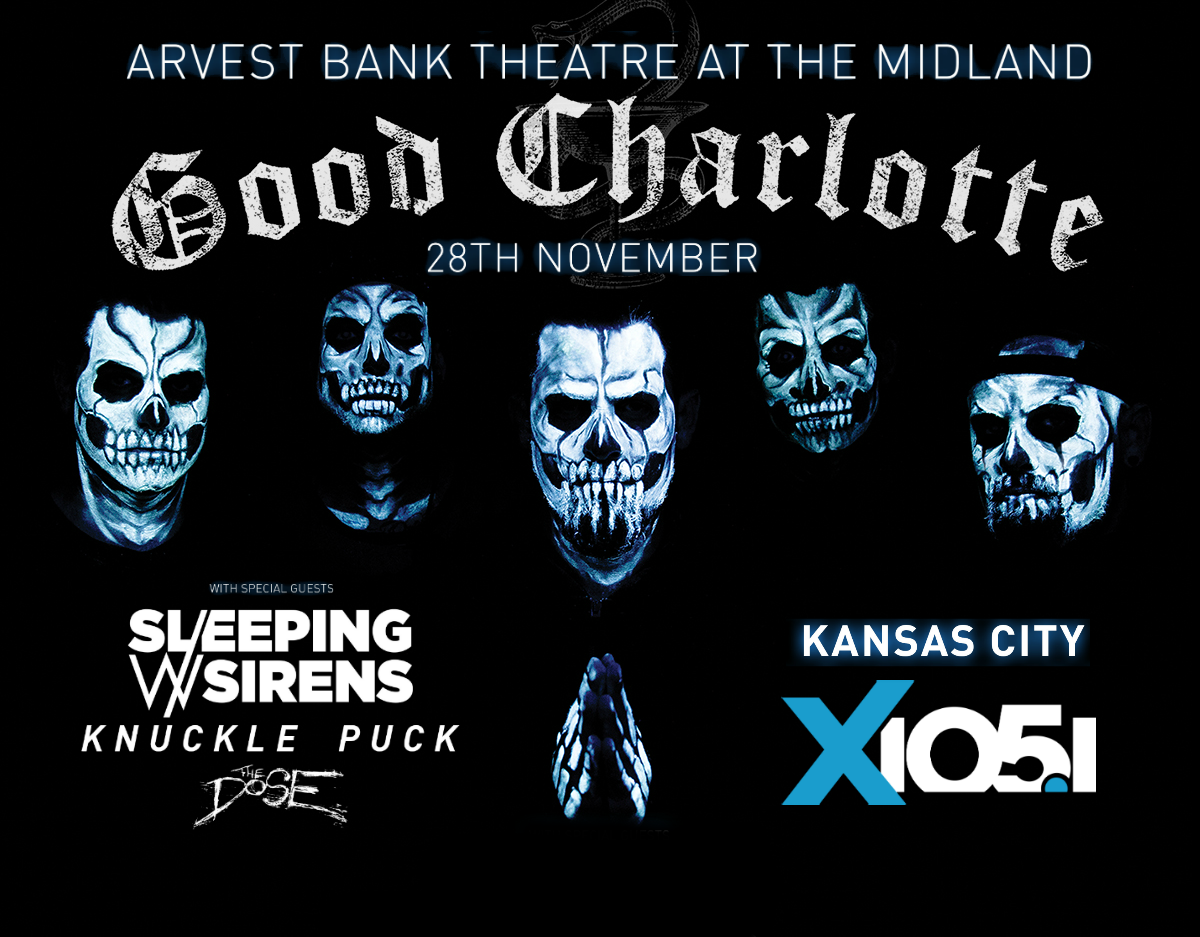 X1051 Welcomes // Good Charlotte @ The Midland