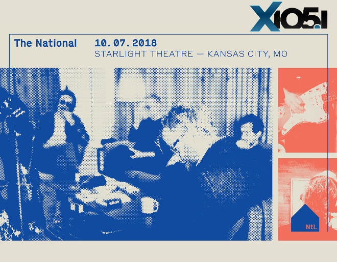 X1051 Welcomes // The National @ Starlight Theatre