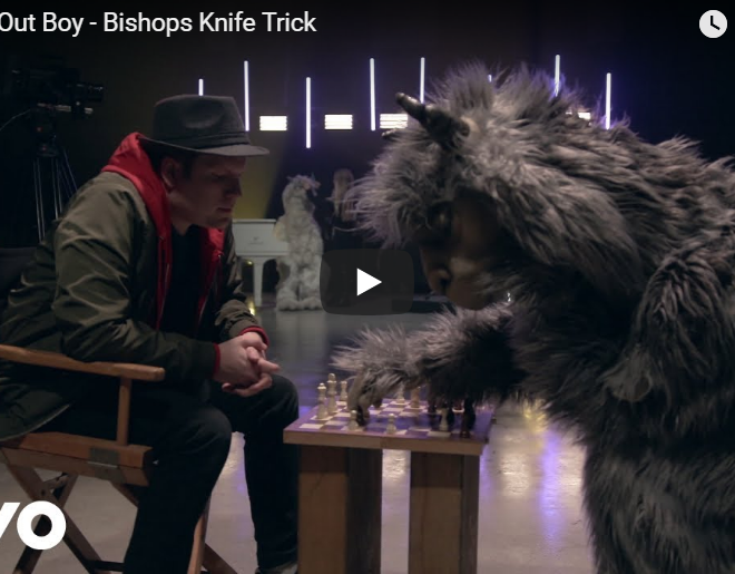 """WATCH: Fall Out Boy's New Llama Filled """"Bishops Knife Trick"""" Video"""