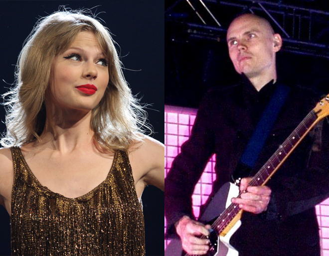 Smashing Pumpkins' Billy Corgan Denies Being Taylor Swift's Father