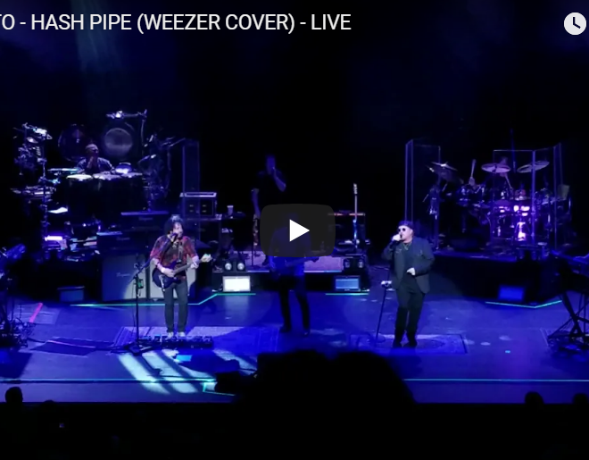 "WATCH: Toto Cover Weezer's ""Hash Pipe"" With The Best Reason For Their Song Choice"