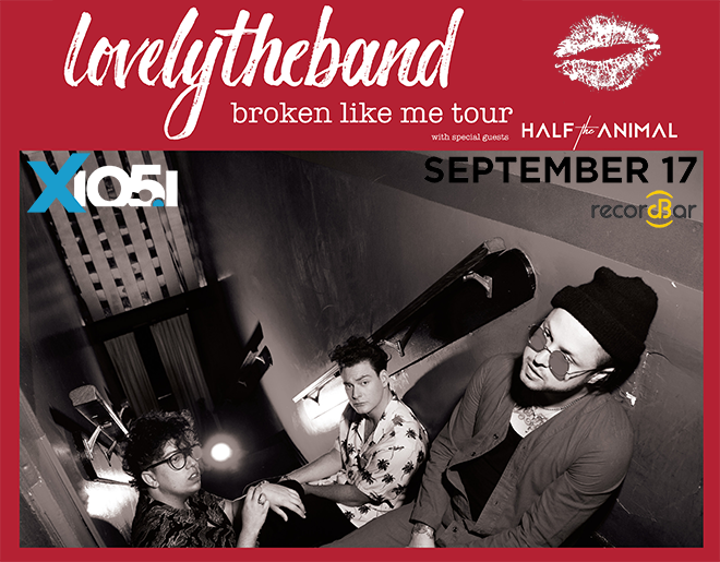 X1051 Welcomes // lovelytheband @ recordBar